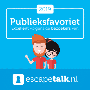 Sky High Escape Room Almere - Publieksfavoriet 2019 Award in de media