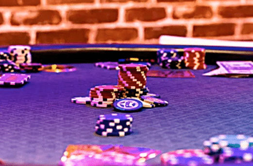 pokertafel van Casino Mortale