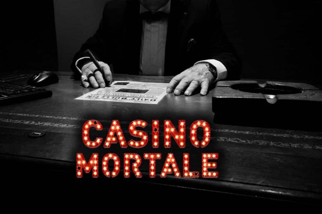 escaping rooms - buro van casino baas met nieuws brief